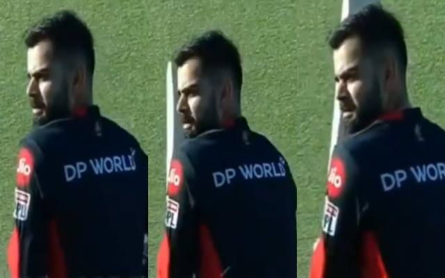 Kohli imitates Steve Smith in practice session and the Video goes viral