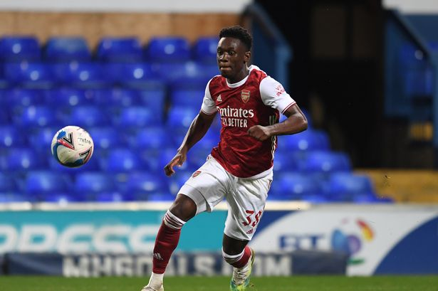 Folarin Balogun on the brink of leaving Arsenal
