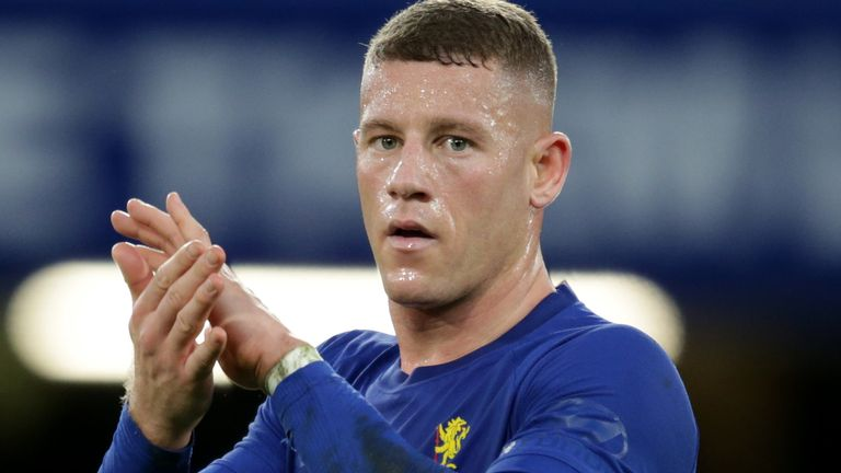 Chelsea loanee Ross Barkley is having a great game at Aston Villa.
