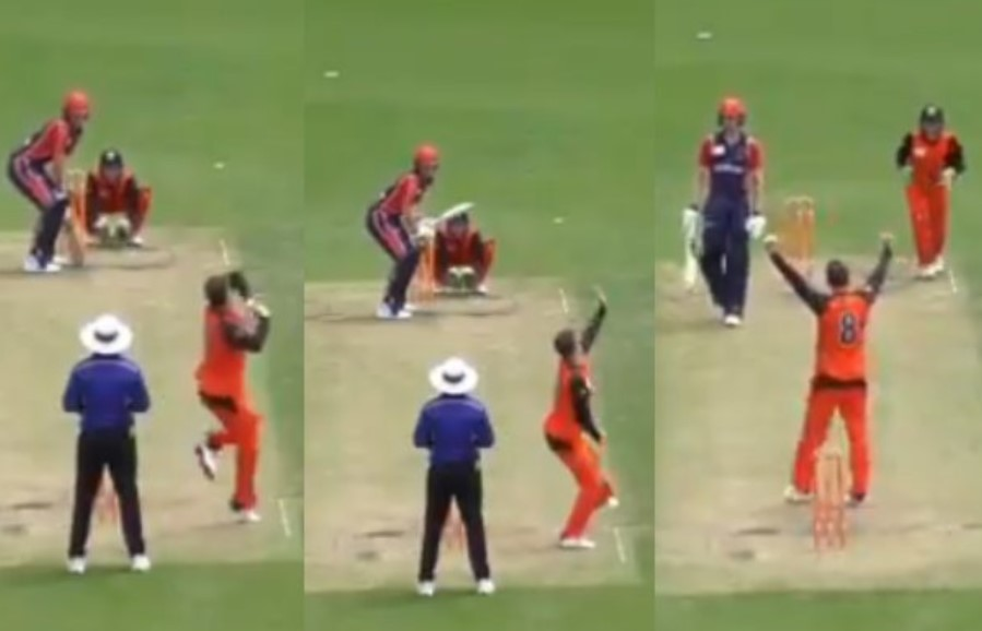 Video: Tim Paine bowls perfect off-break; takes a wicket for the first time