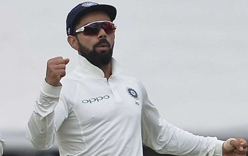 Video: Fan breaches security to meet Kohli in the third Test in Ahmedabad