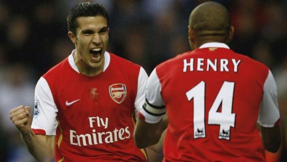 Wenger reveals reason behind the outgoings of Henry & Van Perie