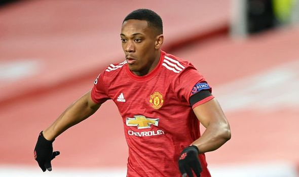 Anthony Martial failing to perform at Manchester United