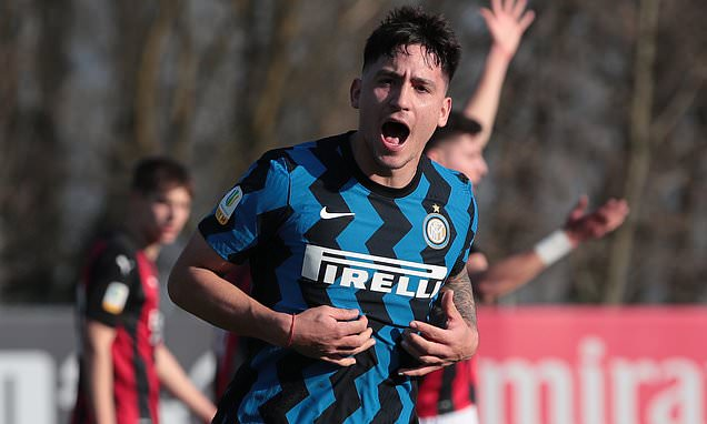 Inter Milan youngster Martin Satriano 'flattered' by Arsenal and Chelsea interest