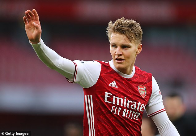Martin Odegaard has added another dimension to the attacking lineup for Arsenal.
